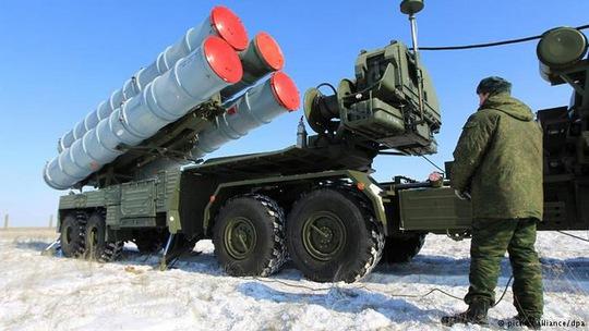 Trung Quốc quan tâm đến hệ thống phòng không S-400 của Nga Ảnh: DPA