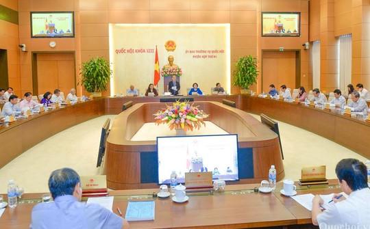 Một phiên họp của Ủy ban Thường vụ Quốc hội - Ảnh: Quochoi.vn