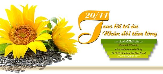 Chương trình Trao lời tri ân, nhân đôi tấm lòng của OCB bắt đầu tư 13-11 đến 21-11