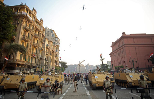 Ngân sách quốc phòng là bí mật quốc gia của Ai Cập Ảnh: AP