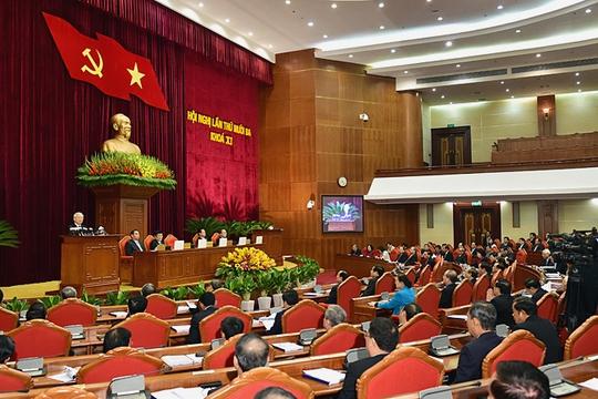 Quang cảnh Hội nghị Trung ương lần thứ 13 Khóa XI - Ảnh: VGP