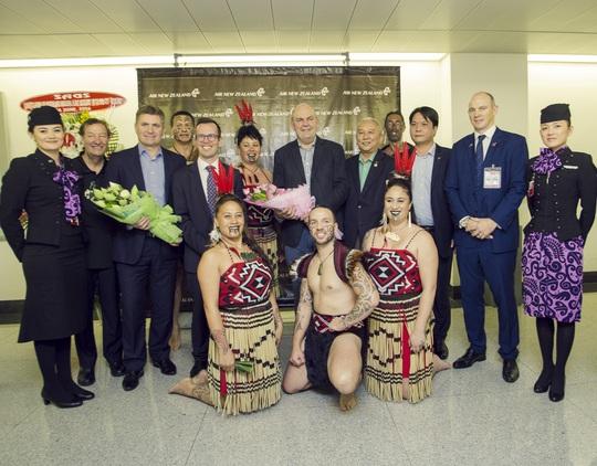 Các đại diện từ Air New Zealand, New Zealand và Việt Nam
