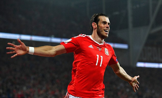 Bale góp công lớn đưa Xứ Wales lần đầu vào tốp 10