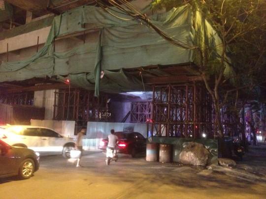Ga Hoàng Cầu, nơi xảy ra vụ việc