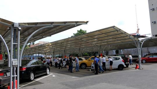 Mô hình chợ ô tô kiểu Mỹ lần đầu tiên xuất hiện tại Việt Nam