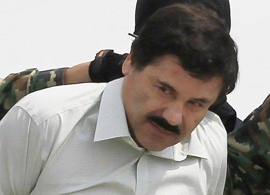 Guzman bị bắt lần đầu tiên vào tháng 2-2014. Ảnh: Reuters