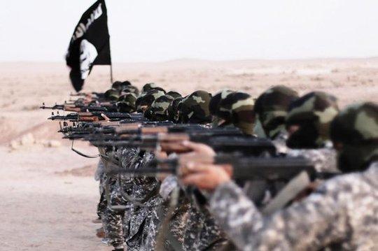 Các tay súng IS tại Iraq. Ảnh: Alamy Stock