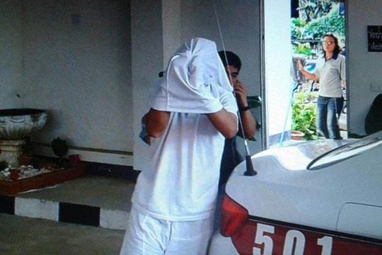Ông Phiphat Kanthima bị cảnh sát bắt hôm 15-2. Ảnh: Bangkok Post