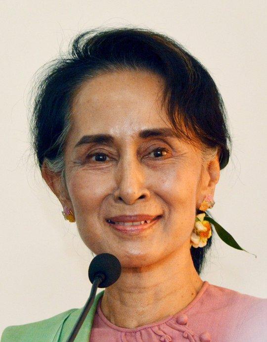 Bà Aung San Suu Kyi. Ảnh: AP