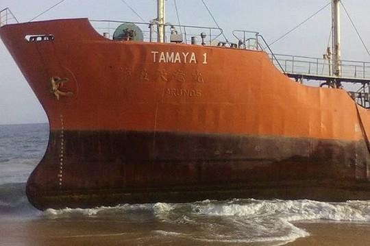 Con tàu mang tên Tamaya 1. Ảnh: FACEBOOK