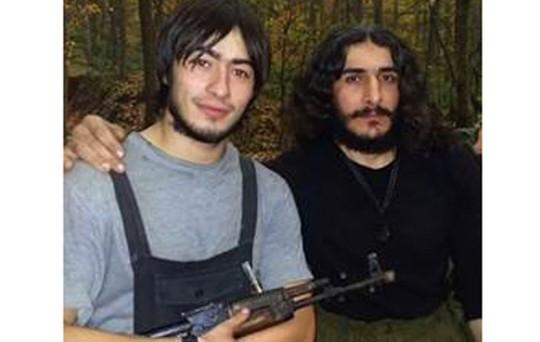 Amriev Artur (trái) - một trong những tay súng của IS - bị nữ điệp viên Karaeva giết chết. Ảnh: MEMRI