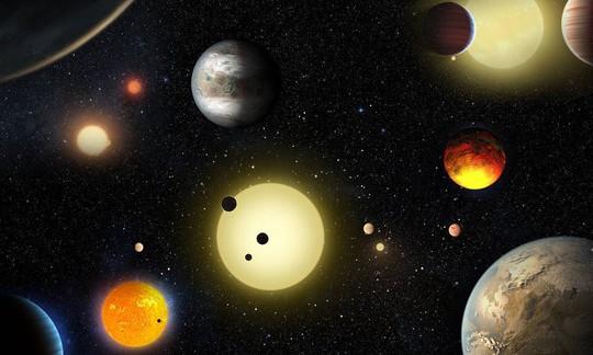 Kepler ghi nhận vệt ánh sáng mờ khi đối tượng di chuyển phía trước ngôi sao của nó để xác nhận hành tinh. Ảnh: NASA