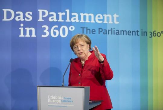 Thủ tướng Angela Merkel. Ảnh: REUTERS