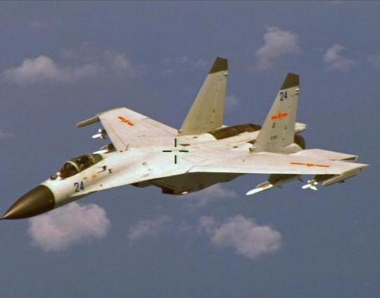 Máy bay chiến đấu J-11 của Trung Quốc. Ảnh: REUTERS