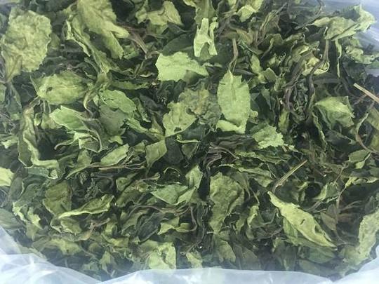 Cận cảnh ma túy cực mạnh đội lốt trà khô, thảo mộc sấy khô,...
