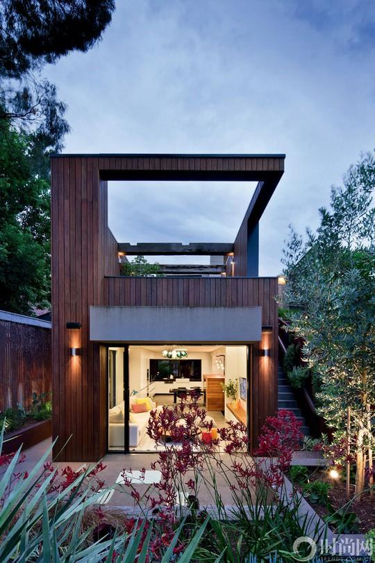 Ngất ngây với ngôi nhà rộng 350m² ở ngoại ô