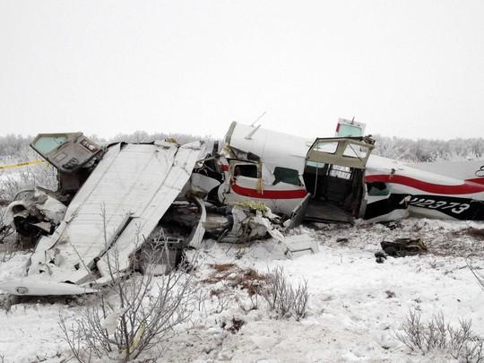Một vụ tai nạn máy bay ở Alaska năm 2013. Ảnh: AP
