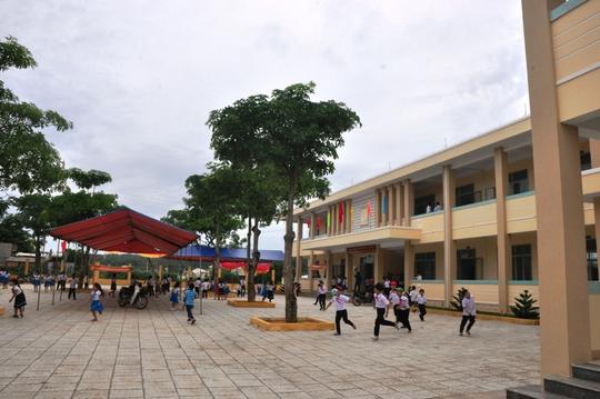Một góc Trường Tiểu học số 1 Bình Châu