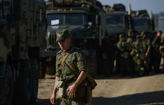 12.500 binh sĩ Nga tham gia cuộc tập trận Kavkaz-2016. Ảnh: TASS