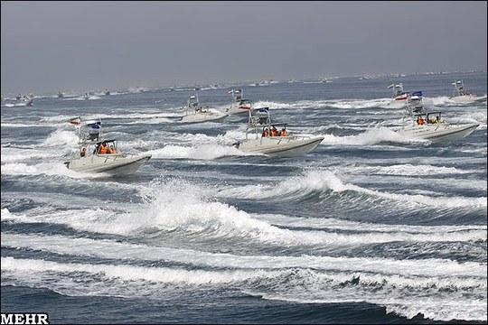 Tàu tuần tra của Vệ binh cách mạng Iran (IRG). Ảnh: USNI