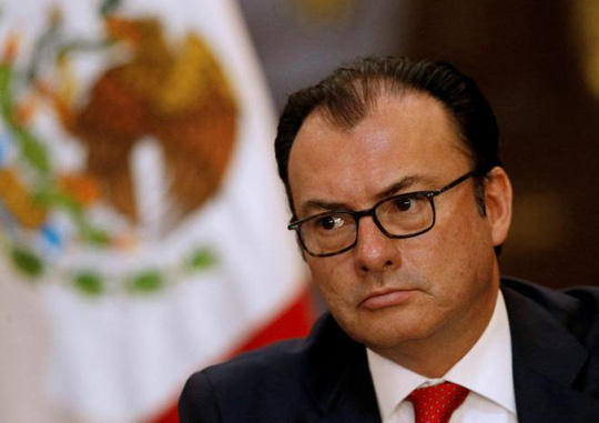 Ông Luis Videgaray. Ảnh: REUTERS