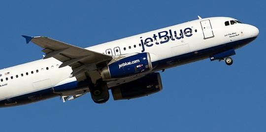 Một máy bay của hãng hàng không Jet Blue Airways. Ảnh: SEATGURU