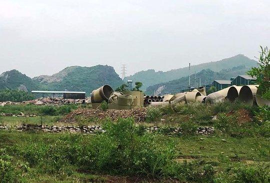 Công ty CP môi trường Nghi Sơn được giới thiệu để xử lý 400 tấn chất thải nguy hại của Formosa
