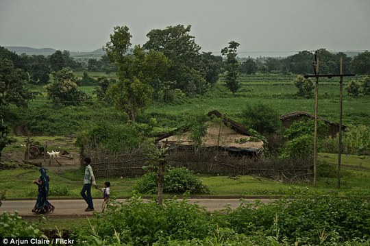 Làng Badi, thuộc quận Khargone, bang Madhya Pradesh. Ảnh: Flickr