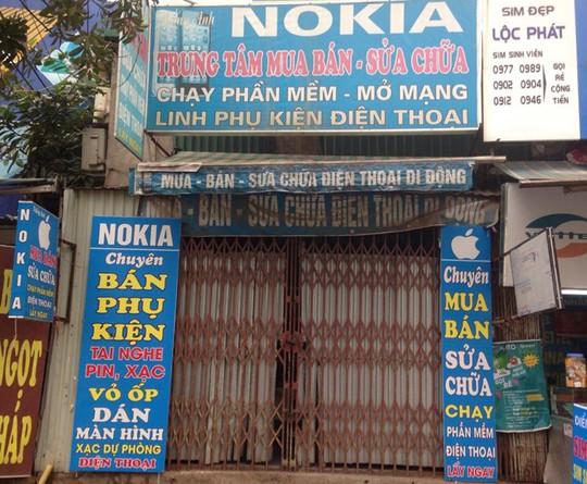 Thị trường bán lẻ di động không còn chỗ cho các cửa hàng nhỏ lẻ.