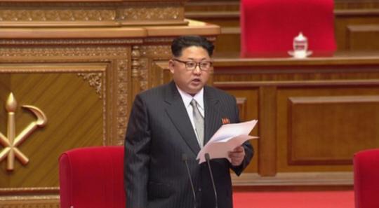 Nhà lãnh đạo Triều Tiện diện trang phục rất tây tại Đại hội Đảng Lao động Triều Tiên.
