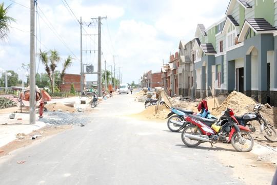 Khu phố thương mại Hưng Phát sắp hoàn thành
