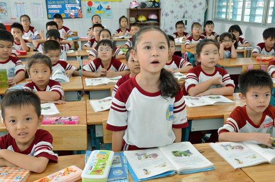 Không nên cho trẻ học chữ trước khi vào lớp 1 Ảnh: TẤN THẠNH