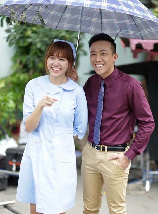 Hari và Trấn Thành có dự án phim chung sắp ra mắt. Ảnh: Facebook