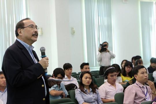 TS Rolando Dy khuyến nghị Việt Nam nên quan tâm đến sản xuất gạo với sản lượng cao, chất lượng trung bình nhưng bán giá cả hợp lý. Ảnh: Đ.Thi
