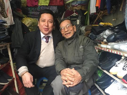 Nghệ sĩ Chí Trung và nghệ sĩ Trần Hạnh