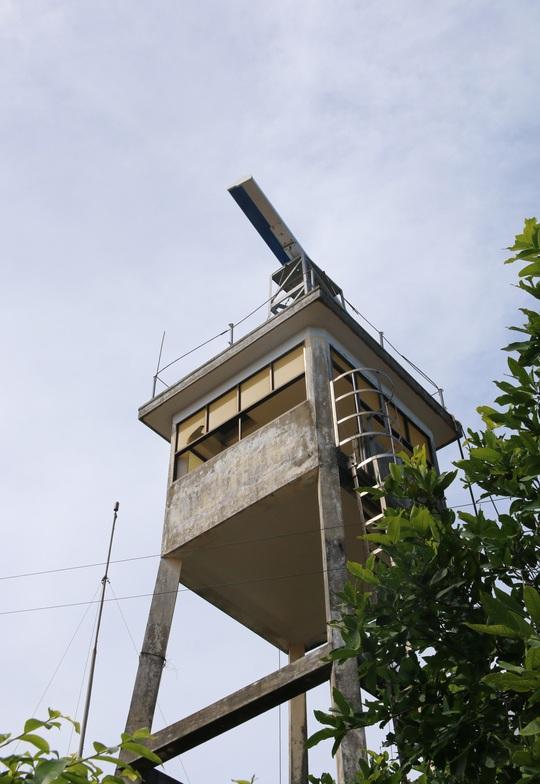 Trạm rada quan sát trên đảo Thổ Chu