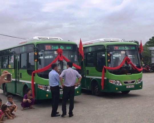 Tuyến xe buýt số 76 được thay mới hoàn toàn phương tiện