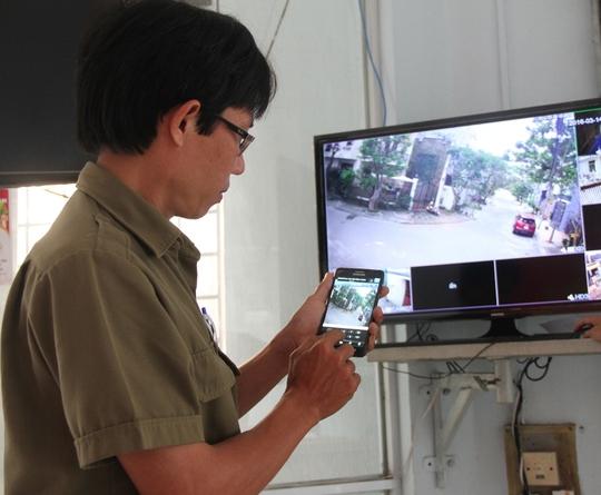 Lắp đặt camera giám sát trên địa bàn phường Xuân Hà phát hy hiệu quả