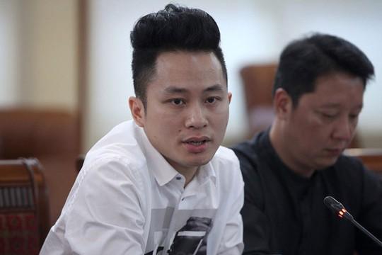 """Ca sĩ Tùng Dương tại buổi họp báo giới thiệu chương trình """"Điều còn mãi"""" Ảnh: LÊ ANH DŨNG"""