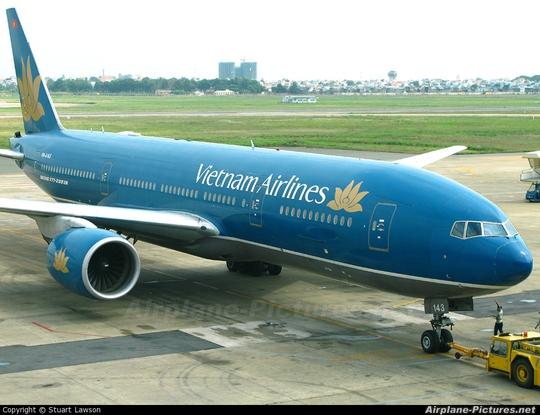 Một chiếc Boeing 777 của hãng hàng không Vietnam Airlines