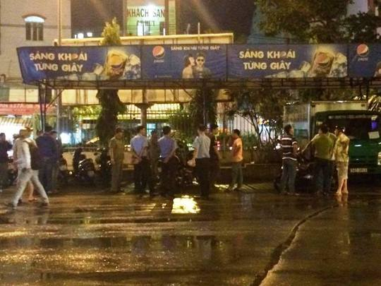 Khu vực Bến xe Miền Đông nơi xảy ra vụ nổ súng làm hành khách hoảng loạn