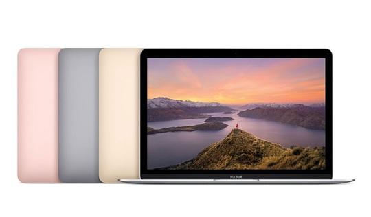Người dùng MacBook 12 inch có thêm tùy chọn màu vàng hồng thời thượng bên cạnh cấu hình nâng cấp nhẹ.