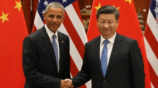 Tổng thống Barack Obama (trái) và Chủ tịch Tập Cận Bình. Ảnh: CNN