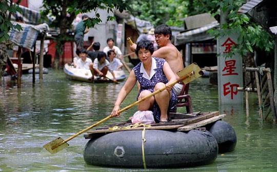 Trung Quốc đối mặt nguy cơ hứng chịu lũ lụt nghiêm trọng tương tự những năm 1997-1998. Ảnh: SCMP
