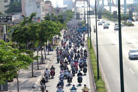 Việc tổ chức lại giao thông sẽ giúp đường Phạm Văn Đồng giảm ùn ứ vào giờ cao điểm