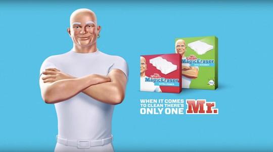 Mr. Clean là thương hiệu nước tẩy rửa lâu đời của Procter & Gamble tại Mỹ.