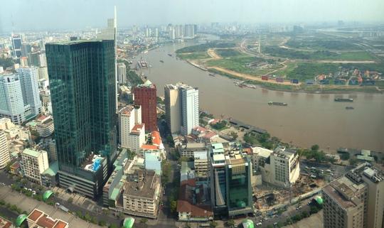 Nhờ vị trí chỉ cách khu vực lõi trung tâm quận 1 một đoạn ngắn, đối diện sông Sài Gòn, bán đảo này được chọn là trung tâm tổng hợp mới, nhằm đáp ứng nhu cầu phát triển của thành phố