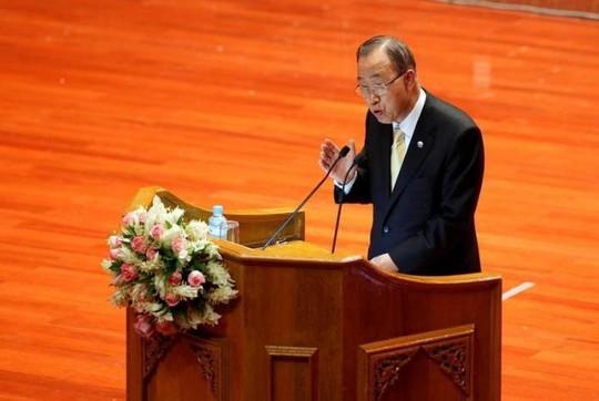 ... từ chối gặp Tổng thư ký Liên Hiệp Quốc (LHQ) Ban Ki-moon. Ảnh: REUTERS