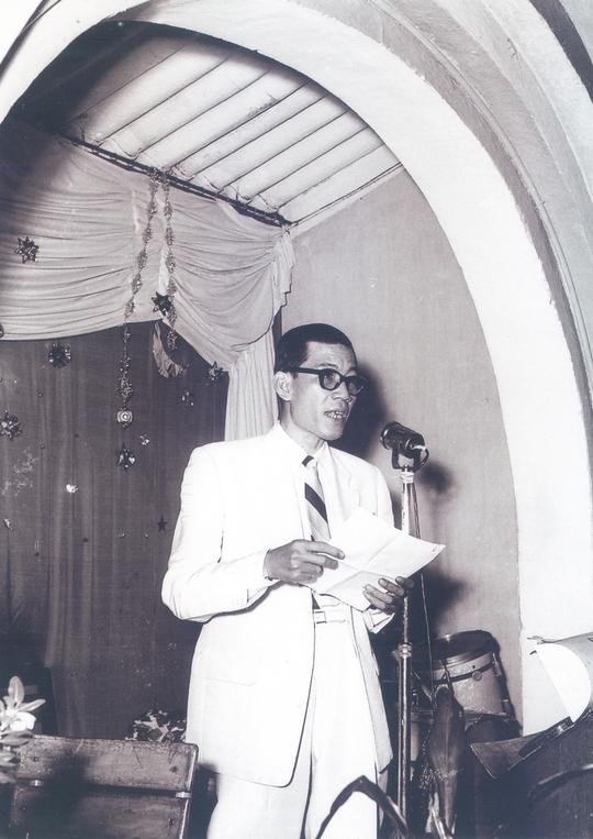 Nhà báo Trần Tấn Quốc - người sáng lập giải HCV Thanh Tâm của sân khấu cải lương năm 1958