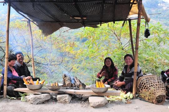 Nụ cười Bhutan
